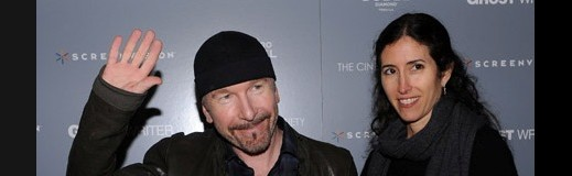 "The Edge na premierze ""The Ghost Writer"" ^  ^  ^  ^"